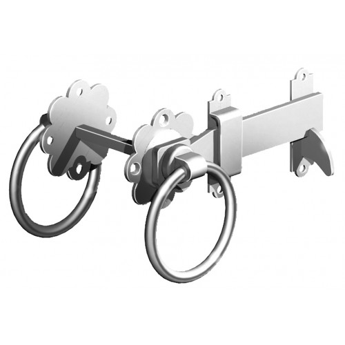 Steel Gate Latch : Stainless steel ring gate latch weatherwise
