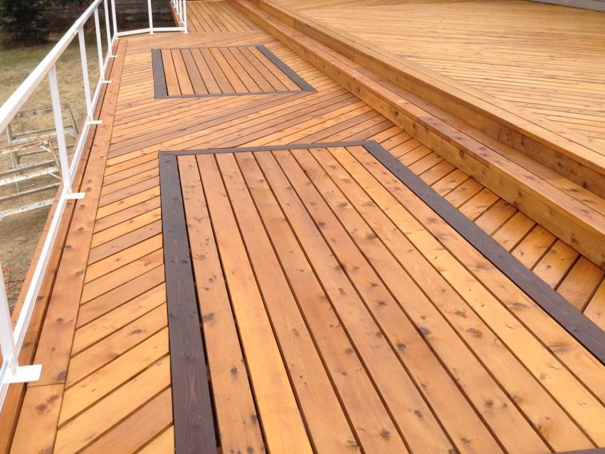 Parksville Ocean View Deck