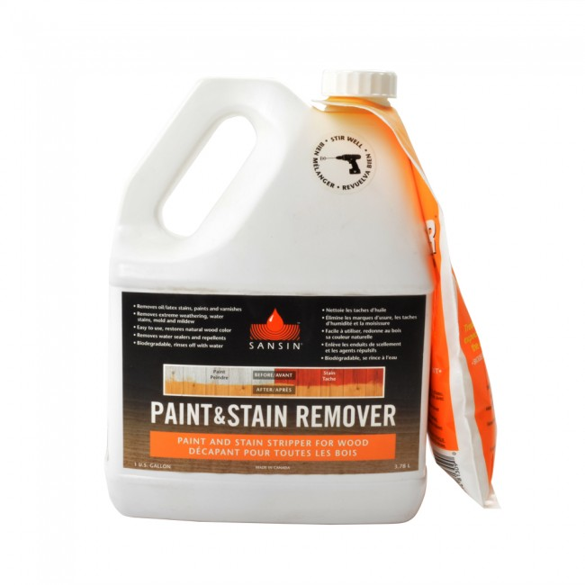 sansin paint and stain remover